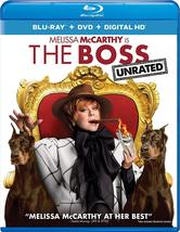 The Boss Unrated Blu-ray + DVD DIGITAL CODE MAY BE EXPIRED NEW - $5.39