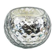 Silver-Tone Honeycomb Scented Candle - $10.95