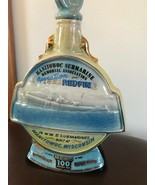 Vintage James. B. Jim Beam Kentucky Bourbon Manitowoc Submarine Memorial... - $23.95