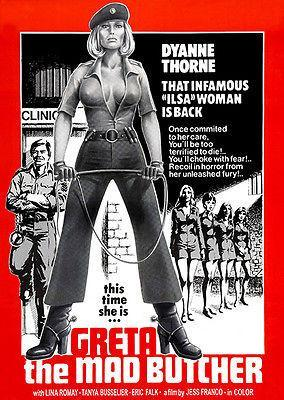 Primary image for Greta The Mad Butcher - 1977 - Movie Poster