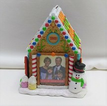 Carlton Cards Heirloom Collection Gingerbread House Family Trinket Box 2005 - $14.52