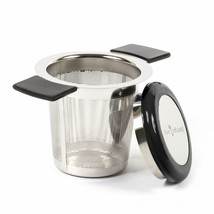Large Capacity Stainless Steel Tea Infuser by Live Infused - Silicone Co... - $16.24