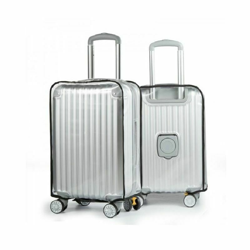 Transparent PVC Luggage Protective Dust Proof Cover Travel Suitcase Accessories