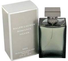 Ralph Lauren Romance Silver Cologne 3.4 Oz Eau De Toilette Spray image 2