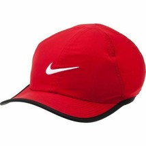 NEW! Nike Featherlite Youth Adjustable Hat-Red - $44.43