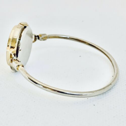 Vintage La Marque Gold Tone Bangle Bracelet Women's 24mm Watch image 2
