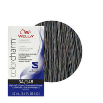 Wella Color Charm Permanent Liquid Haircolor  Dark Ash Brown 3A/148 - $14.95+