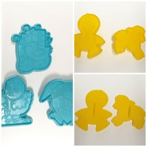Lot of 5 Easter Spring Cookie Cutters Some Wilton Plastic Vintage Sheep ... - $17.81