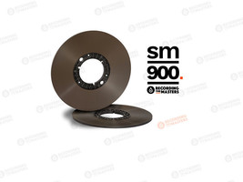 "RTM BASF 1/4"" High Output Reel Tape SM900 3608 ft, 1100m Authorised Dealer - $54.95"
