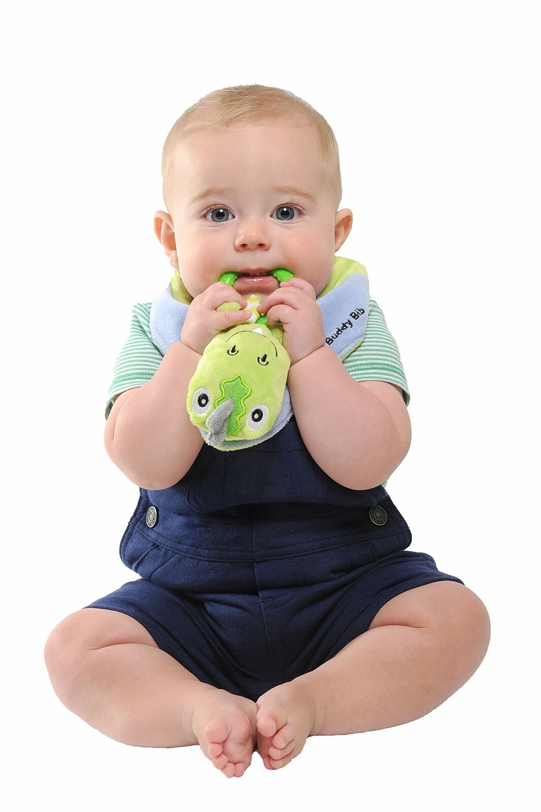 Munch Mitt the Original Mom Invented Teething Toy and 3 in 1 Buddy Bib- Self-... image 6