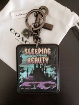 NEW Disney x COACH A Dark Fairy Tale Sleeping Beauty Bag Charm Key Ring - $157.81
