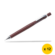 Pilot H-325 0.5mm Mechanical Pencil (12pcs), Brown, H-325-BN - $47.99