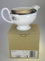 Wedgwood Satine Platinum Creamer NEW IN BOX Made in UK - $24.70