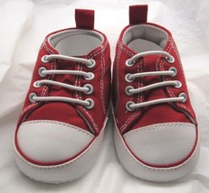 NCAA Oklahoma Sooners Logo on High Top Sneakers Small #160 Triple T Trading - $12.95