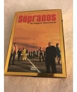 The Sopranos - The Complete Third Season (DVD, 2002, 4-Disc Set, Four Di... - $7.99