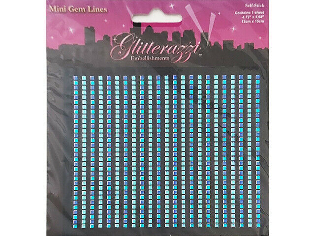MultiCraft Imports Glitterazzi Embellishments #MZ050D