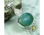 Amazonite gems pendant 925 sterling silver 81ct thumb155 crop
