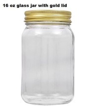 Mason jars set of 6 with lids , Blank jars, Perfect for craft and gift i... - $24.31