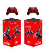 Xbox Series X Console Controllers Vinyl Decals Stickers Spider-man Logo Marvel - $13.85