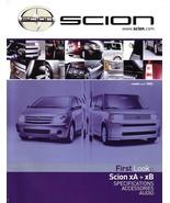 2004 Scion xA xB brochure catalog DEBUT magazine ISSUE 01  - $8.00