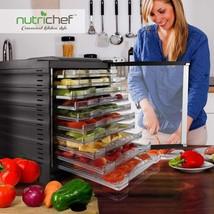 Deshidratador De Alimentos Carnes Frutas Con Control Digital Temperatura... - £140.54 GBP