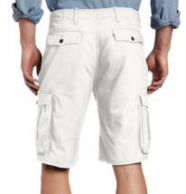 Levi's Men Premium Cotton Cargo Shorts Original Relaxed Fit White 124630025 image 2