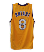 Kobe Bryant Los Angeles Lakers Autographed Gold Jersey COA from PSA/DNA - $494.00