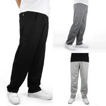 Winter Warm Sweatpants For Men Fleece Thick Loose Elastic Waist Trousers Pants   - $36.65+