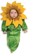 Sunflower Bunting Halloween Costume  Size 0-9 Months - $24.00