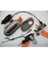2001 02 03 F150 Super Crew LH Driver Door Latch Power Lock Handle Actuat... - $94.35
