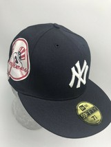 New Era Cap Navy Big Sid Logo 59FIFTY NY Yankees - €33,52 EUR