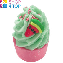Who Wants To Be A Meloniare Bath Mallow Bomb Cosmetics Watermelon Handmade New - $4.05