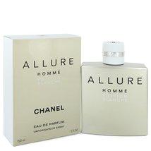 Chanel Allure Homme Blanche 5.1 Oz Eau De Parfum Cologne Spray image 6