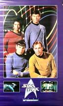 Star Trek 25th Anniversary Classic TV Cast Photo Poster - $9.70