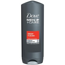 Dove Men Care Body and Face Wash, Deep Clean 13.5 - $8.90