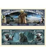 Pack of 50 - Yoda Jedi Master Star Wars Collectible Novelty Dollar Bills - $14.80