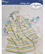 Ribbon Candy Baby Afghan, The Needlecraft Shop Crochet Pattern Leaflet 9... - $1.95