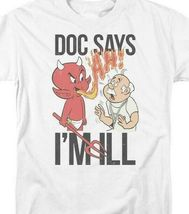 Hot Stuff Little Devil t-shirt Doc says Im ill retro comic graphic tee DRM347 image 3