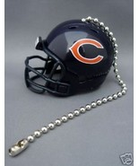 CHICAGO BEARS CEILING FAN LIGHT PULL & CHAIN NFL FOOTBALL HELMET - $7.60
