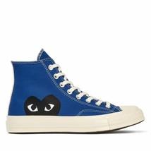 NIB*Converse X Comme de Garcons Play*Mens*Blue High  Top**5-12*Sneaker*U... - $225.00