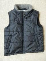 Gymboree - Black Quilted Winter Vest Jacket - Little Boys Size XS 3-4 - $22.00