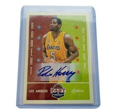 Robert Horry Autograph Lakers Auto signature past present 2012 Panini in... - $74.25