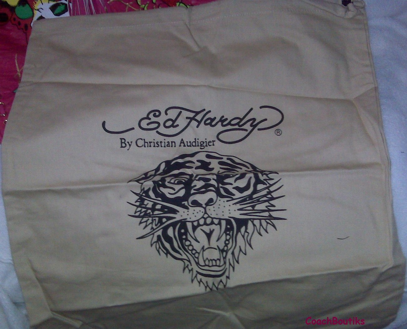 "Ed Hardy ""Bella"" Tote Bag Large NWT BFBEL 0060"