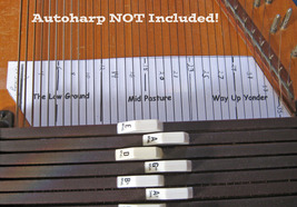 Autoharp Note Guide For Melody Pickin/Strummin - $5.99