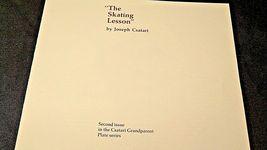 "1981 ""The Skating Lesson"" by Joseph Csatari with Box ( Knowles ) AA20-CP2170 Vin image 6"