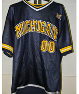 Michigan Wolverines Vintage Football Jersey Med - $15.99