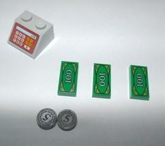 LEGO CASH REGISTER ~ Printed 2x2 Slope Lego City Store Accessory Piece a... - $4.95