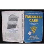Old 1933-58 Vauxhall Car Auto Repair Manual British English - $12.50