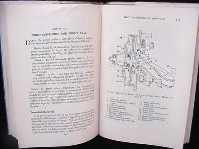 Old 1933-58 Vauxhall Car Auto Repair Manual British English
