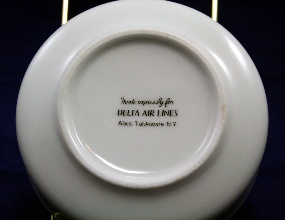 Delta Airlines Ceramic Bowl